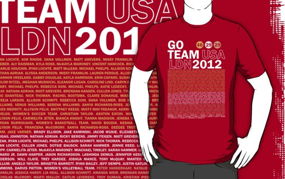 Team USA 2012 by Matt Burgess