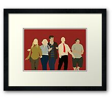 Team Winchester Framed Print