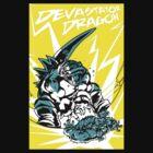 Devastator Dragon - Finisher Tee by Jon David Guerra