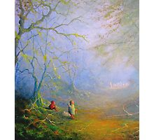 Sam's First Encounter With Wood Elves Photographic Print