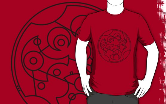 DFTBA - Gallifreyan (Black) by Nephie Ripley