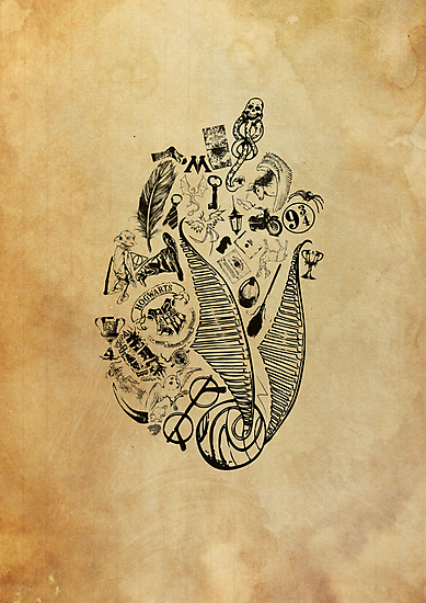 Harry Potter Lives on in our Hearts (no words) by EF Fandom Design