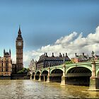 London - Big Ben - Tower Bridge by Eugenio