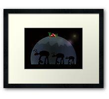 Christmas pud walk Framed Print