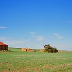 Burra South Australia old farm house by Danny  Waters