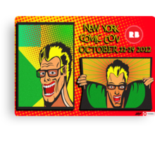 New York Comic Con Entry Canvas Print