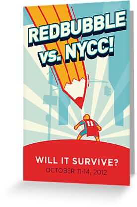RedBubble vs. NYCC by Tordo