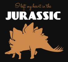 I Left My Heart in the Jurassic T-Shirt