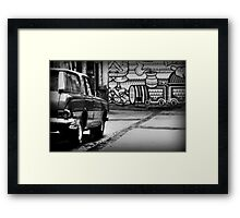 stakeout Framed Print