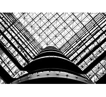 the grid  Photographic Print