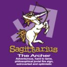 Sagittarius The Archer by Sarah Trett