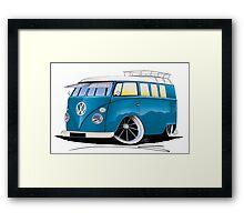 VW Splitty (11 Window) J Framed Print