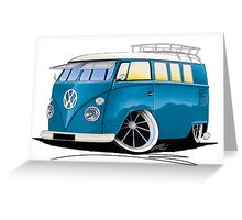 VW Splitty (11 Window) J Greeting Card