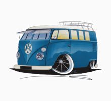VW Splitty (11 Window) J by Richard Yeomans