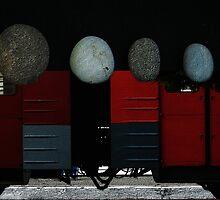 commuters by Nikolay Semyonov