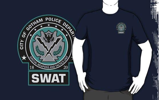 Gotham City Police SWAT Unit - Pocket Logo by Christopher Bunye