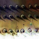 composition with bolts by Nikolay Semyonov