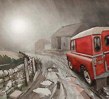 Misty Evening by JohnLowerson