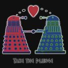 Take the Plunge - Dalek T shirt by BlueShift