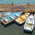 Row Boats In The Harbor by FStopGuy
