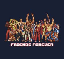 Street Fighting Friends T-Shirt