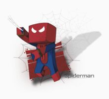 Gamers Spiderman Minecraft Avatar Design by xFreshGFX