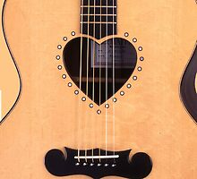 Acoustic Heart Guitar Case by HighDesign