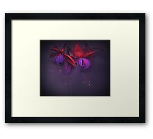 That misty morning... Framed Print