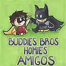 Buddies Bros Homies Amigos! by NerdyTurtly