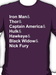 Jetset Avengers - Light T-Shirt