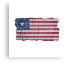 Pre-War US-Flag (Fallout) Canvas Print