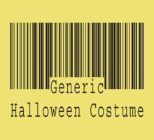 "Halloween ""Generic Halloween Costume"" T-Shirt Kids Clothes"