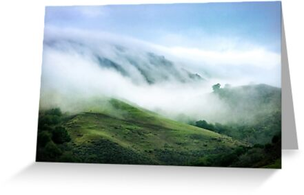 Morning Fog on Mission Peak by Ellen Cotton