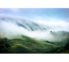 Morning Fog on Mission Peak Photographic Print