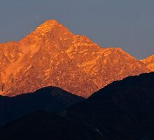 Himalayan Alpenglow by Don Schwartz