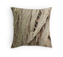 Cedar Bark Throw Pillow