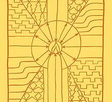 Pengaston Saxon light by springwoodbooks