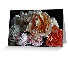 """""""A Simple Bouquet..."""" Greeting Card"""
