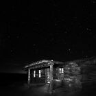 Curly's Cabin at Ghost Ranch by Mitchell Tillison