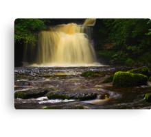Cauldron Falls, 2 Walden Beck, North England  Canvas Print