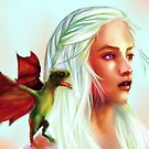 Mother of Dragons by chazzieh