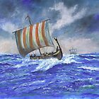 Viking Longship by Phil Willetts