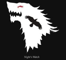 Jon Snow - Night's Watch by Luciënne Daniëlle van Bokhorst