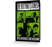 The Rotting Stones Greeting Card
