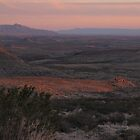 West Texas Plains at Sundown by seymourpics