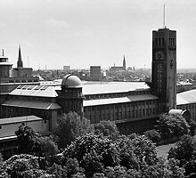 BW Germany Munich Deutsch Museum 1970s by blackwhitephoto