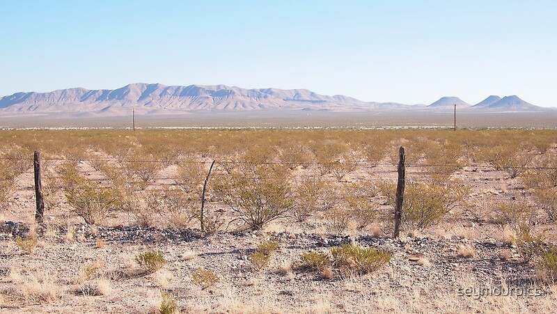 Quot Volcanoes On The West Texas Plain Quot By Seymourpics Redbubble