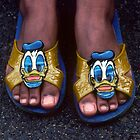 My New Donald Duck Sandals by Kellice