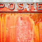 Poste- Italian weathered mailbox by Silvia Ganora