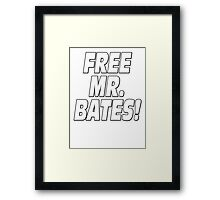 Free Mr. Bates Downton Abbey Framed Print